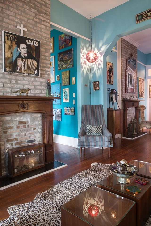 House Tour A Colorful Art Filled New Orleans Home