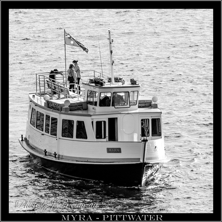 If your going to travel on Pittwater, the lovely MYRA will most likely be your chariot. MYRA - Pittwater.
