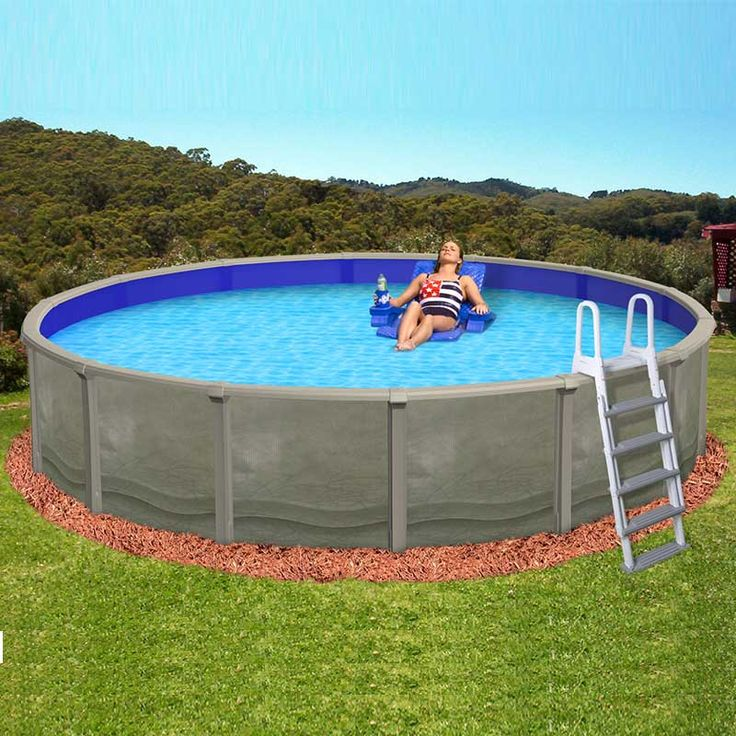 17 best images about backyard on pinterest backyards - Above ground resin swimming pools ...