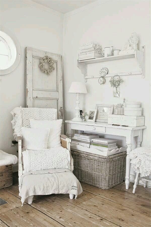 3165 best images about shabby chic decor on pinterest shabby chic bedrooms brocante and cottages. Black Bedroom Furniture Sets. Home Design Ideas