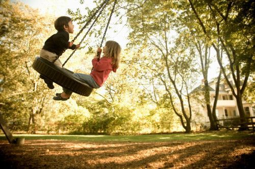 young lovePhotos, Childhood Memories, Tires Swings, Film Music Book, Trees Swings, Kids, Photography Quote, Tire Swings, Backyards