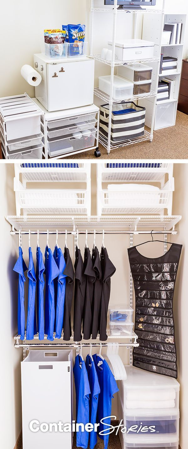 See Our Decked Out   Organized Dorm With Products From The Container Store!