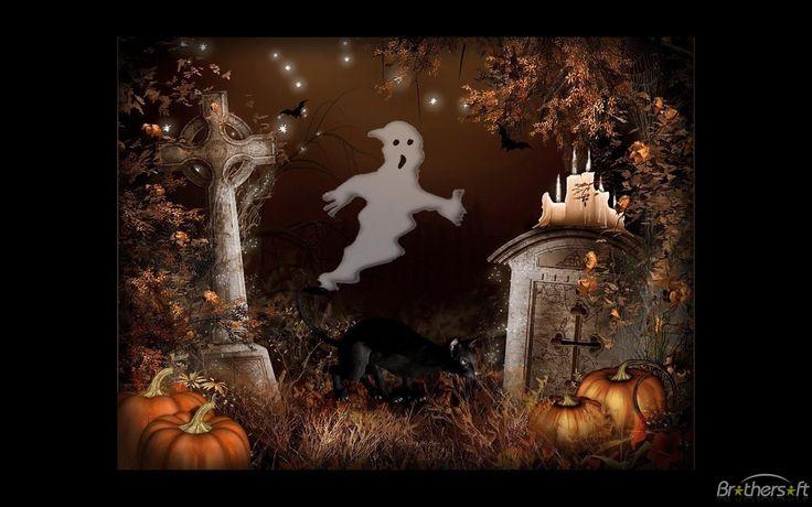 halloween screensavers microsoft