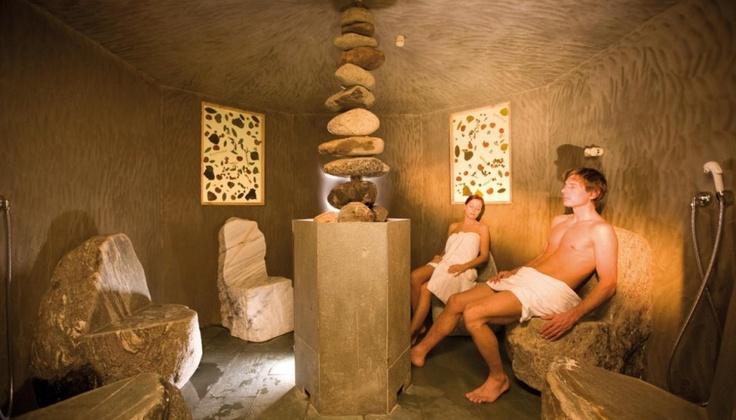 Il bagno turco dell'hotel Arosea in Val D'Ultimo
