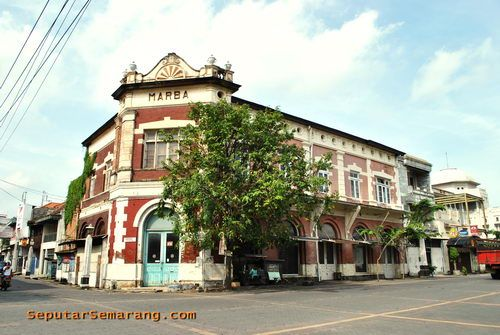 Marba heritage building, Kota Lama, Ouderstaad, Semarang
