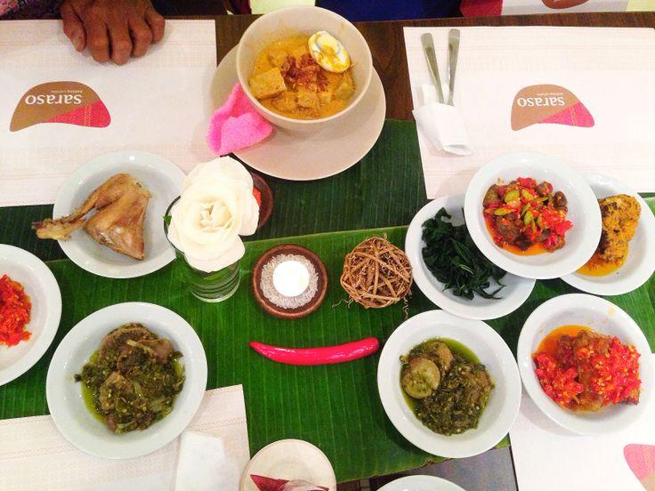 Saraso. Semi-fine dining, padang food. Citywalk 2nd Fl.