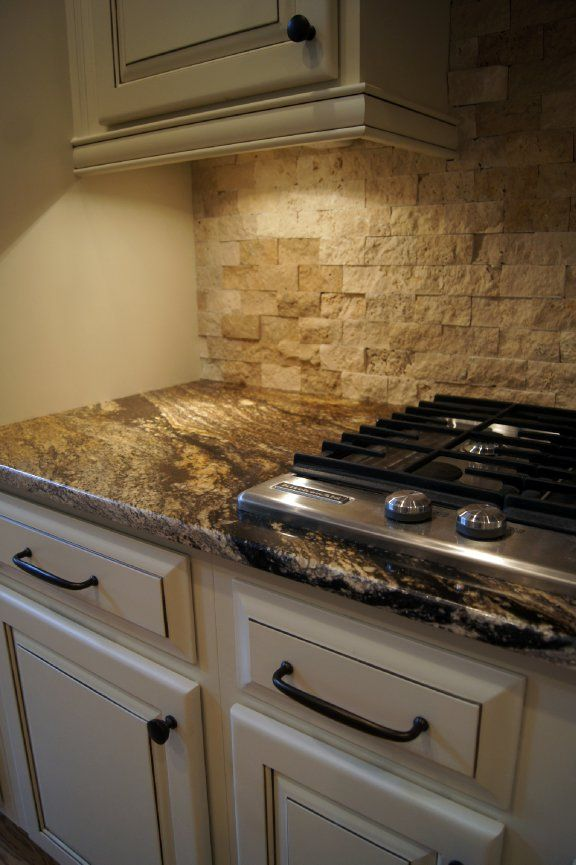 Faux Stone Backsplash Kitchen best 25+ stone backsplash ideas on pinterest | stacked stone
