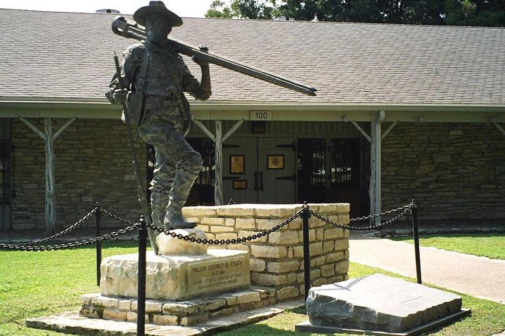 The Texas Ranger Hall of Fame and Museum is located near