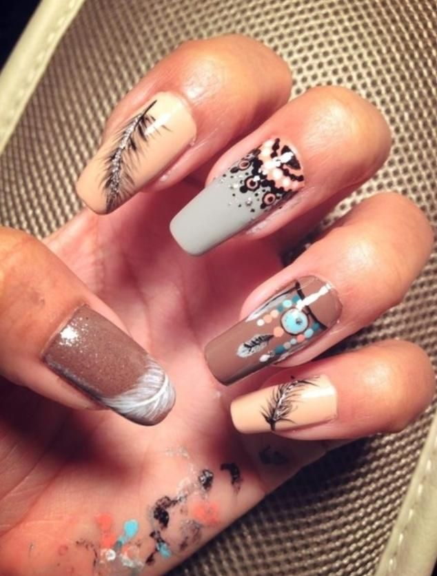 73 best native american nail art images on Pinterest | Nail scissors ...