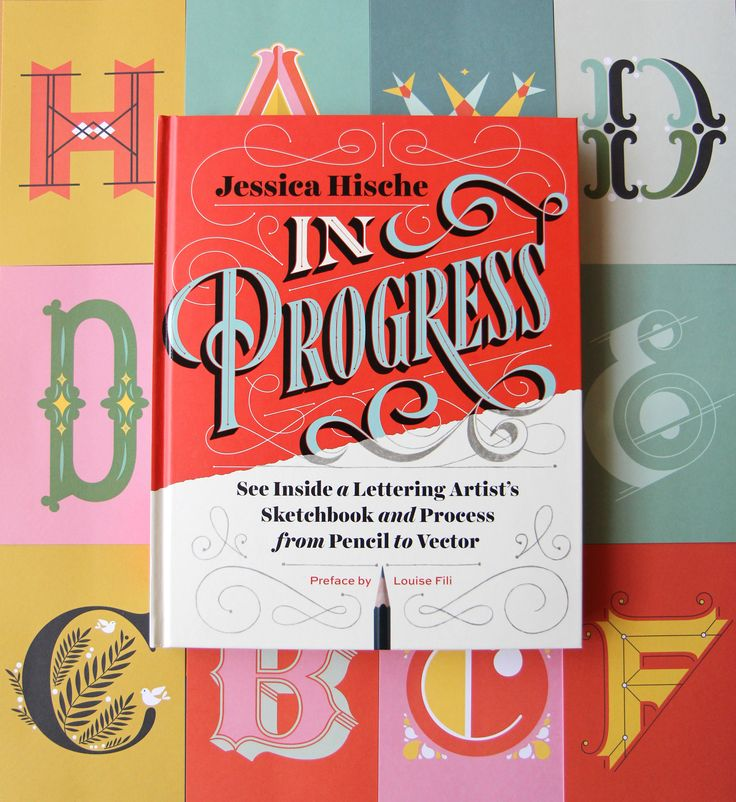 An inside look at @jessicahische's lettering work from start to finish