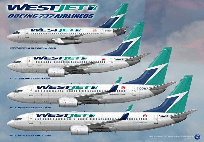 Westjet B737 Aircraft Fleet
