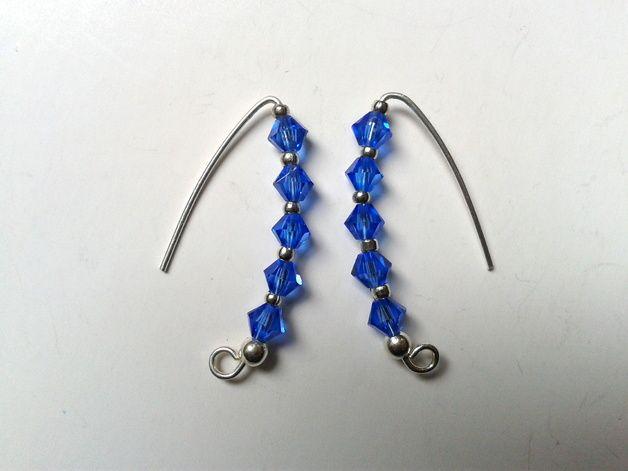 SWAROVSKI CRYSTAL - earrings
