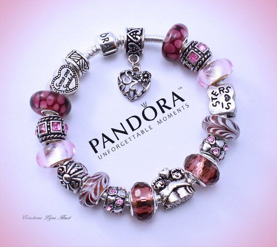 bracelet pandora argent femme