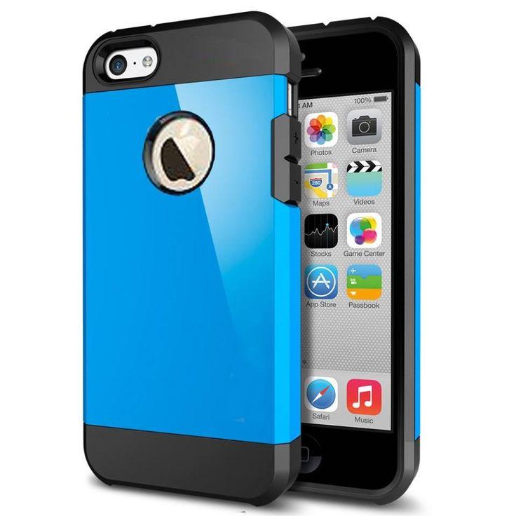 Armor Case Μπλε OEM (iPhone 5/5s) BULK - myThiki.gr - Θήκες Κινητών-Αξεσουάρ για Smartphones και Tablets - Χρώμα μπλε