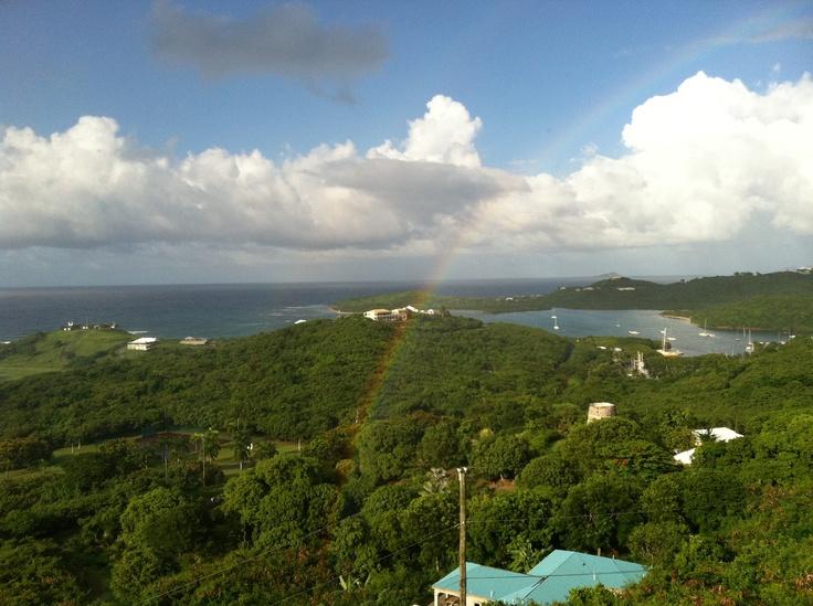 Overlooking Salt River, North Shore Road, St. Croix, USVI