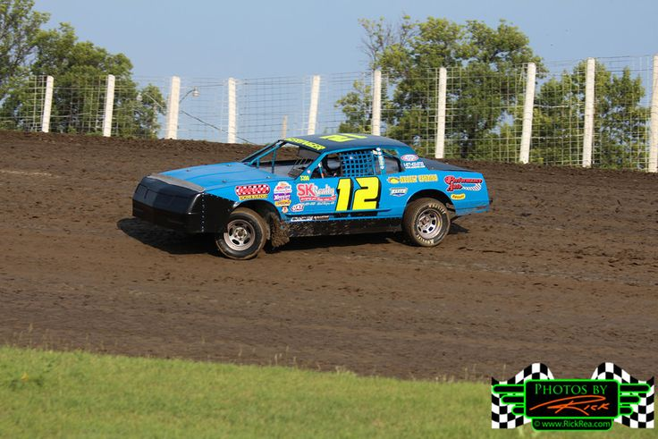 2012 River Cities Speedway Street Stock Points Champion #12 Street Stock Jim Geringer Street Stock ripping it on The Legendary Bullring River Cities Speedway.