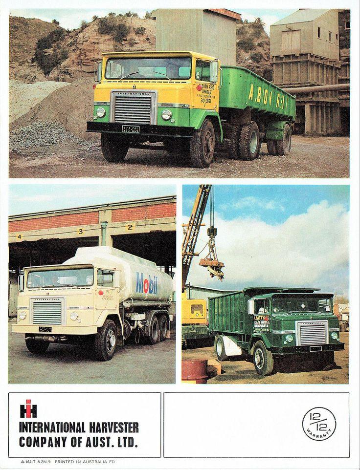 1966 International ACCO Truck Foldout (Aus) Trucks