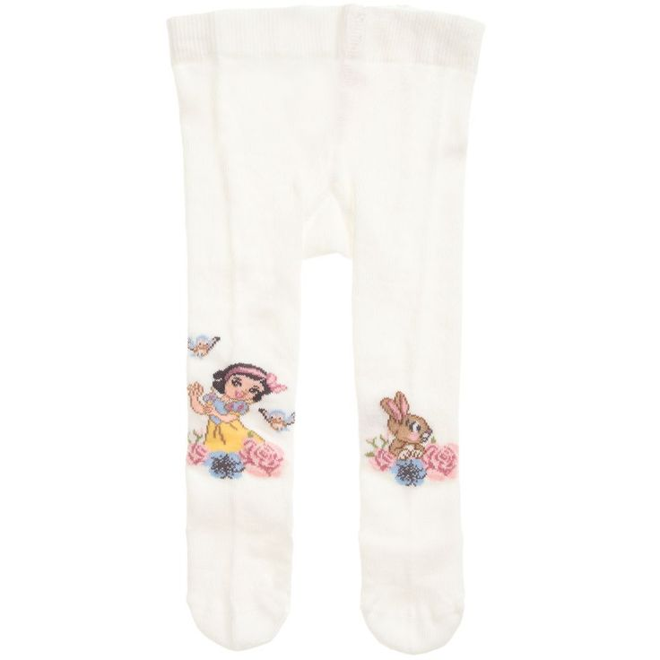 https://www.childrensalon.com/checkout/cart/#a_aid=51f456f914eb5 These cosy tights for younger girls are made by Monnalisa in a stretchy cotton blend. They have a Disney© Snow White intarsia weave, with an elasticated waistband.