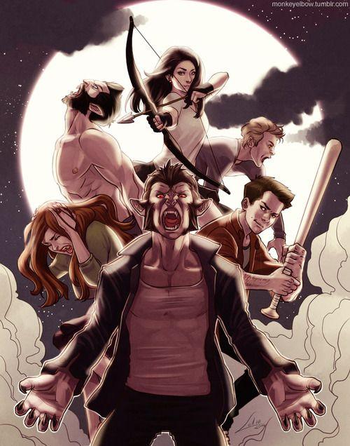 Teen Wolf illustration