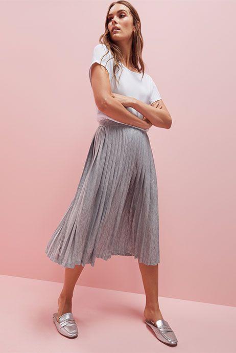Primark Womenswear Slip-On Loafers Metallic Shoes Ways to Wear