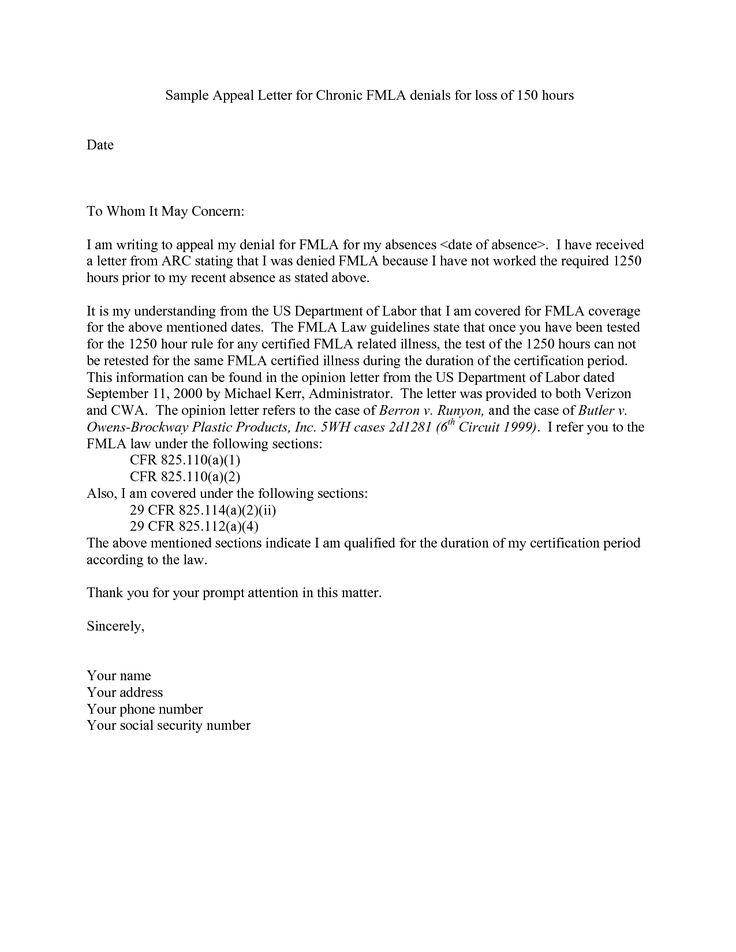 disability appeal letter sample insurance for claim Home Design - appeal letter template