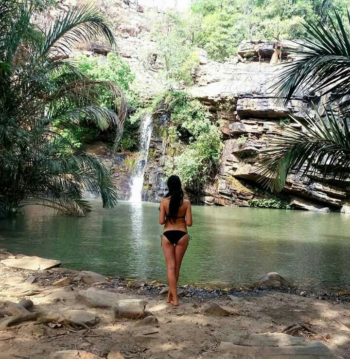 Natitingou waterfall. Benin