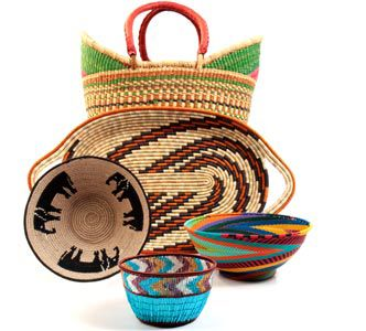 20 Best African Wire Woven Baskets Images On Pinterest