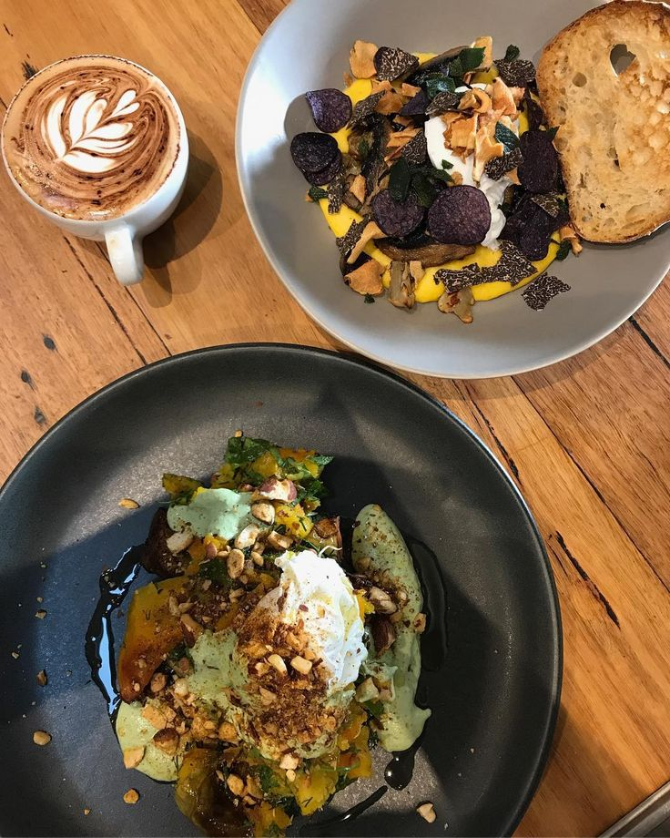 """123 Likes, 2 Comments - Cafe. 42 Lit Ryrie St, Geelong (@littlegreencorner) on Instagram: """"Making breakfast plans and impress your buddies   Life got easy 😘 Truffles   Polenta   Coffee  …"""""""