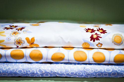 10 flowers, 39, and morning dew - medium weight organic cotton sateen fabrics