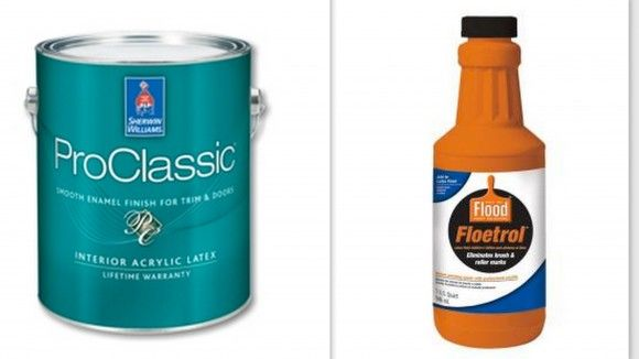 Best paint for furniture & cabinetry is Sherwin Williams ProClassic.  Add Floetrol to smooth out and prevent brush marks.
