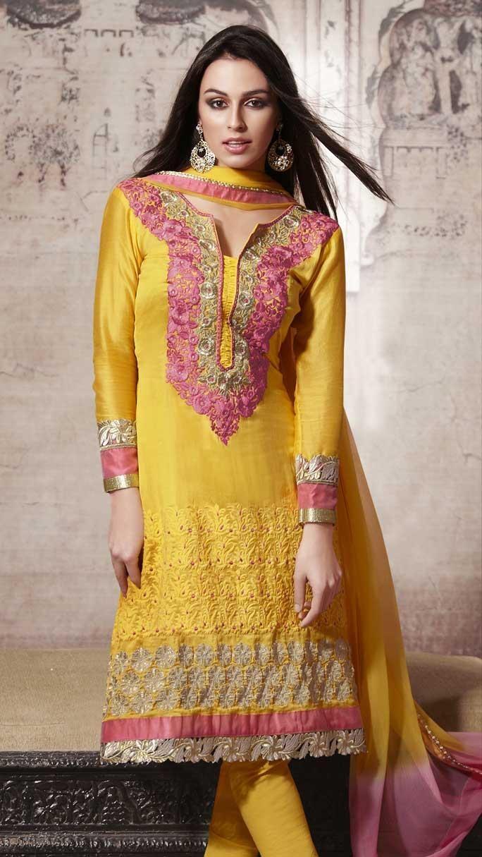 Mehndi Designs Churidar : Images about ethnic salwar kameez on pinterest