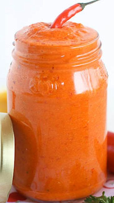 Piri-Piri Sauce (Hot Chili Pepper Sauce)