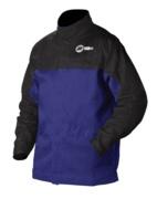 Miller Welding Jacket - Indura - Cotton w/ Leather Sleeves