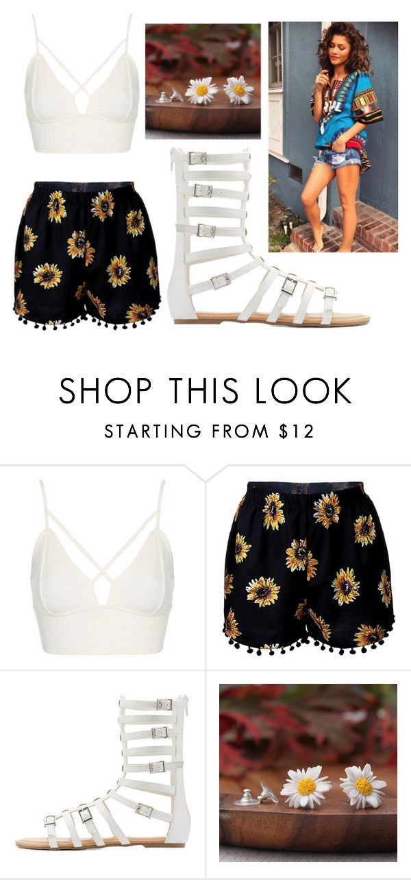 """""""Zendaya"""" by angiiieee9415 ❤ liked on Polyvore featuring Topshop and Wild Diva"""