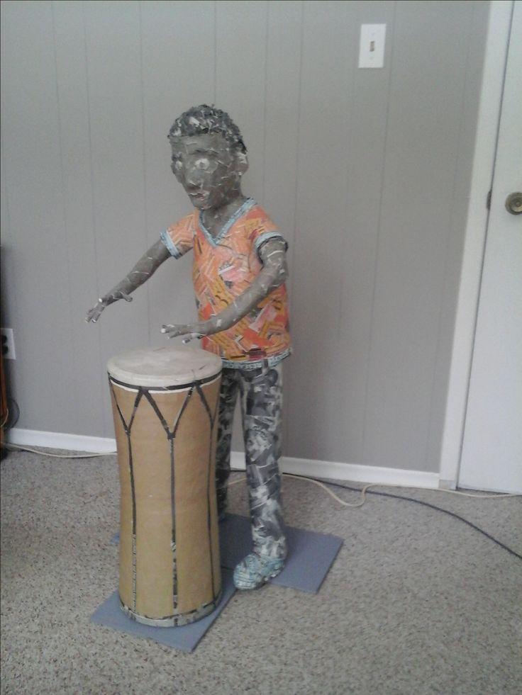 Miguelito drumming