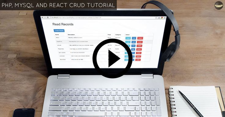 PHP, MySQL and React CRUD Tutorial - Step By Step Guide!