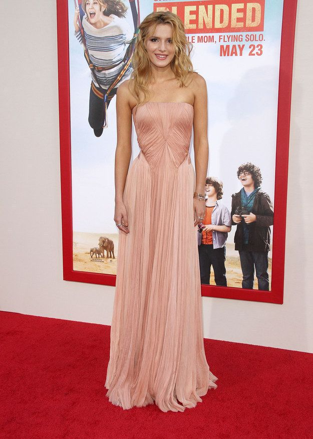"""1. Bella Thorne At The """"Blended"""" Premiere In Hollywood   The Most Fab Or Drab Celebrity Outfits Of The Week"""