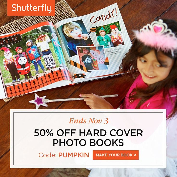 shutterfly 50 off photo book code