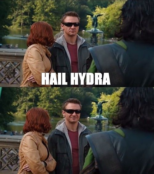 Best of Hail HYDRA: The New Marvel Meme Sweeping The Internet | The Mary Sue