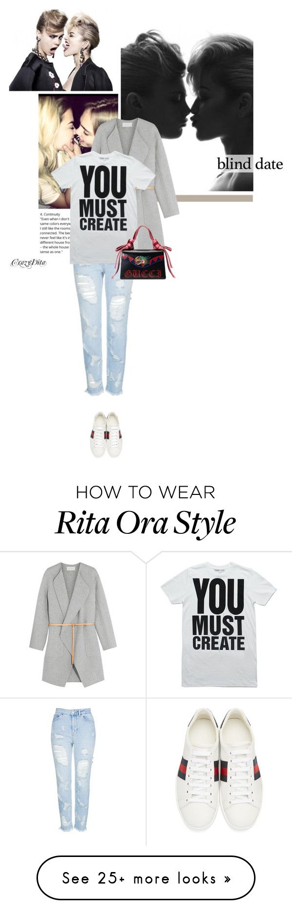 """"""" A little progress each day adds up to BIG results. """" by crazydita on Polyvore featuring Burberry, Topshop, Gucci, Vanessa Bruno and blinddate"""