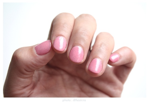 I just had my first manicure with nail powder....I will NEVER do anything else.  My nails...no acrylic. no tips....strengthens your nails....strong strong.  SNS Nail powder.... I LOVE THIS.  CB