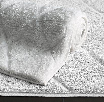 Cotton Bath Rugs   Restoration Hardware152 best Bathroom Accessories images on Pinterest   Bathroom  . Masters Hardware Bathroom Accessories. Home Design Ideas