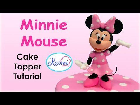 How to make Goofy (Cake Topper) / Cómo hacer a Goofy para decorar tortas - YouTube