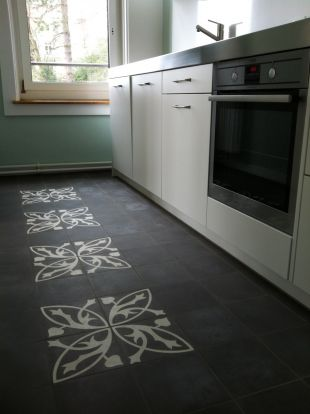 26 best images about cement tegels on pinterest toilets inspiration and tile - Keuken met cement tegels ...