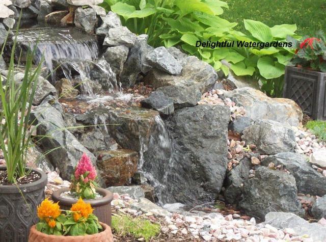 DIY Garden Fountain : DIY Backyard Water Feature