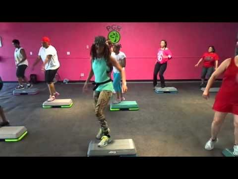 Hip Hop Step Aerobic By: PGR Family Cardio Club - YouTube  My new go-to for step aerobics!
