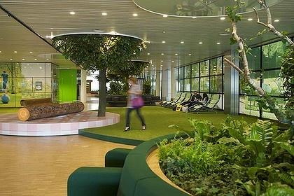 indoor park at schipol airport