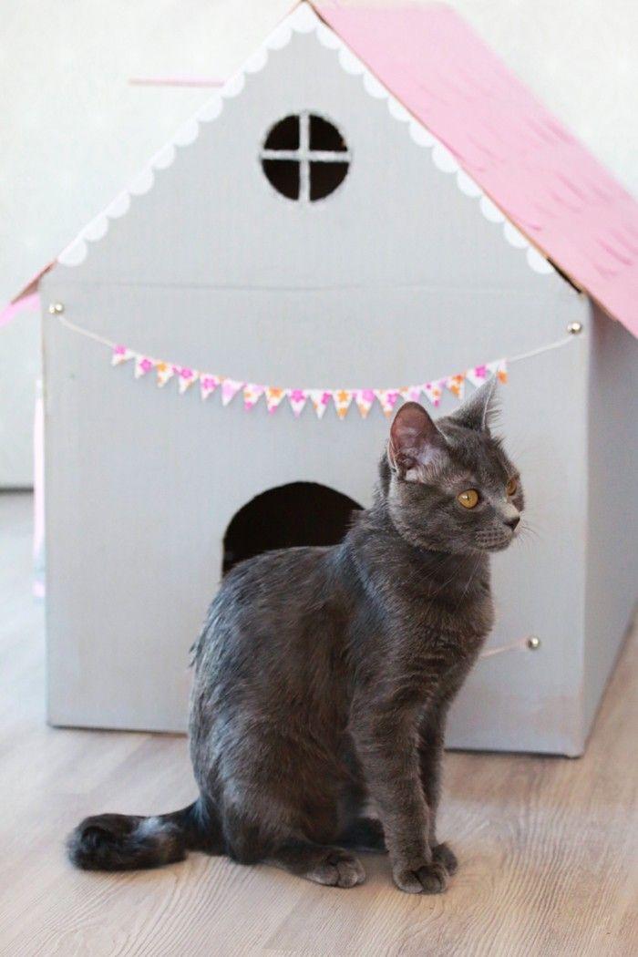 Katzenhaus Selber Bauen 40 Preisgunstige Und Praktische Upcycling