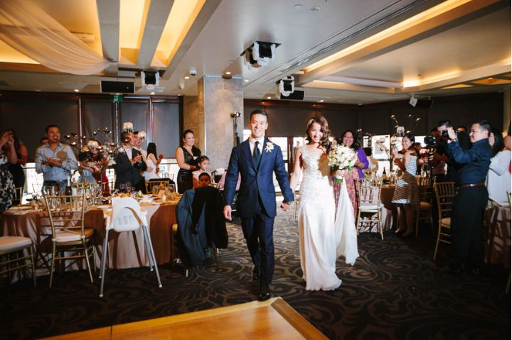 Dockside Group - Photography by Felix Alim Photography - Wedding Reception Styling - Centrepiece by Design - Hair by Lizzy Liros - Make up by Melissa Sassine - Dress by Yulia McAuley