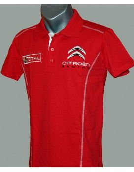 Citroen Red T-Shirt              With embroidered logos http://autofanstore.com
